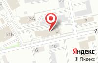 Схема проезда до компании Диалог-Профикс в Калининграде