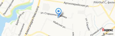 Элит на карте Калининграда