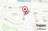 Схема проезда до компании ТриАс в Калининграде