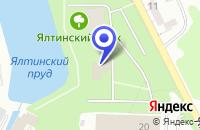 Схема проезда до компании СТРОИТЕЛЬНАЯ КОМПАНИЯ ГРАЖДАНСТРОЙ-СЕРВИС в Калининграде