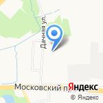Автотерминал на карте Калининграда