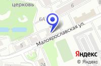 Схема проезда до компании ГАРАЖНОЕ ОБЩЕСТВО СТРЕЛОК в Славске