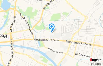 Местоположение на карте пункта техосмотра по адресу г Калининград, пр-кт Московский, д 177
