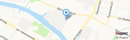 Мебель-Класс Калининград на карте Калининграда