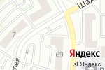 Схема проезда до компании Радуга в Калининграде