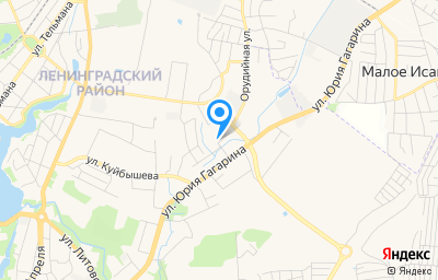Местоположение на карте пункта техосмотра по адресу г Калининград, ул Орудийная, д 3