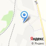 Автокраан на карте Калининграда