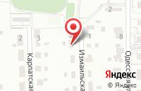 Схема проезда до компании Bellisimo в Российском