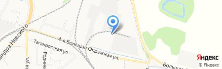 Еврофом-Калининград на карте Калининграда