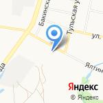 Автосити на карте Калининграда