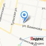 РАДЕКС ГРУПП на карте Калининграда