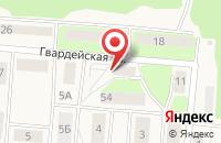 Схема проезда до компании Почтовое отделение в Храброво