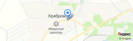 Домовёнок на карте Храброво