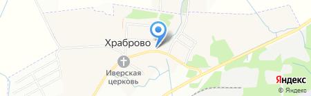 Детский сад №10 на карте Храброво