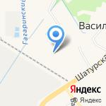Хива Русланд на карте Васильково