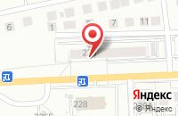 Схема проезда до компании Автомаркет в Калининграде