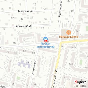 г. Калининград, ул. Аксакова, на карта