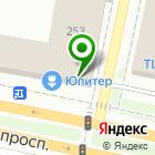Местоположение компании Юпитер-Сервис