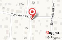 Схема проезда до компании Сеан в Васильково