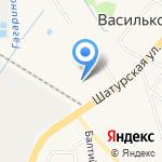 Дачная жизнь на карте Васильково