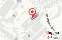 Схема проезда до компании Глобус в Васильково