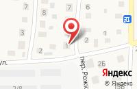 Схема проезда до компании ИП Гаврилов в Малом Исаково