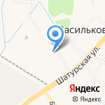 Гостиница на Шатурской на карте Васильково