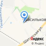 Стяг-мебель на карте Васильково