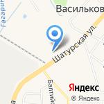 Гранит на карте Васильково