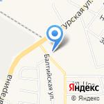 Даурия на карте Калининграда