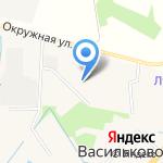 Продовольственный магазин на карте Васильково