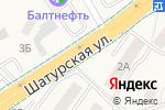 Схема проезда до компании Продуктовый магазин в Васильково