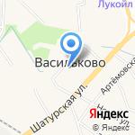 Овощной магазин на карте Васильково