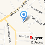 Курносики на карте Васильково