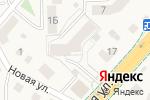 Схема проезда до компании Леди Ева в Васильково