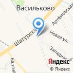 Платежный терминал на карте Васильково
