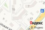 Схема проезда до компании Елена в Васильково
