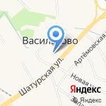 Промальп на карте Васильково