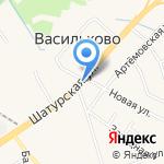 Магазин цветов на карте Васильково