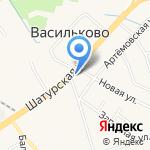Босомычка на карте Васильково