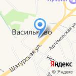 Ингениум на карте Васильково
