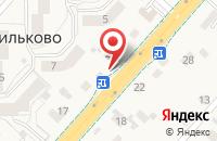 Схема проезда до компании Кормушка в Васильково