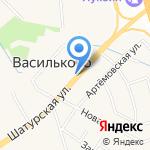 Балтптицепром на карте Васильково