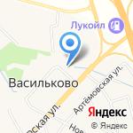 Парк на Шатурской на карте Васильково