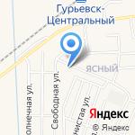 Капелька на карте Гурьевска