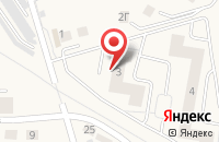 Схема проезда до компании Спецремстройтрест в Васильково