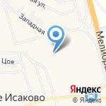 Спецремстройтрест на карте Васильково