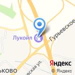 ЛУКОЙЛ на карте Гурьевска