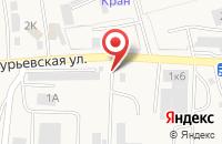 Схема проезда до компании Сигма в Васильково