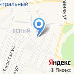 Капелев и М на карте Гурьевска